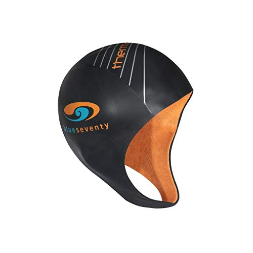 blueseventy Thermal Neoprene Skull Cap - for Triathlon Training and Cold Open Water Swimming (Small)