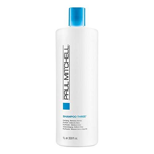 Paul Mitchell Shampoo Three, Removes Chlorine and Impurities