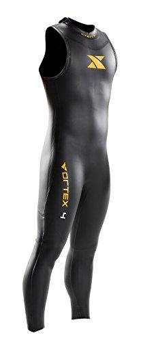 Xterra Wetsuits Men's Vortex Sleeveless Suit, Black, Medium