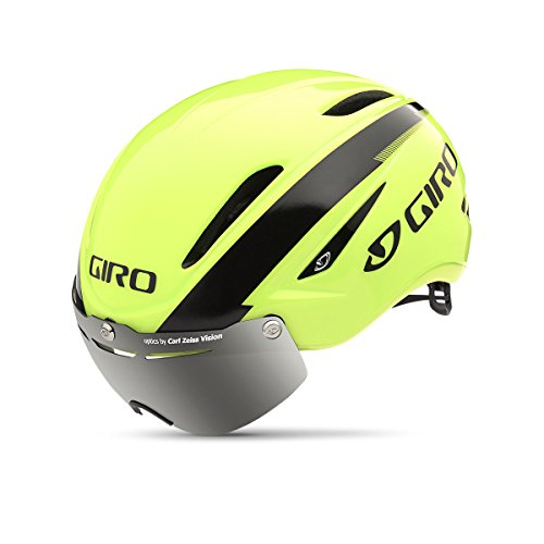 Giro Air Attack Shield Helmet - Matte White/Silver Large