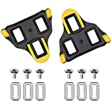 Boerte Compatible with SPD-SL SM-SH11 (6 Degree Float) Bike Replacement Cleats – Indoor Cycling & Road Bike Cleat Set - Fully Compatible with SPD SL Pedals – Perfect for Pro Cyclists