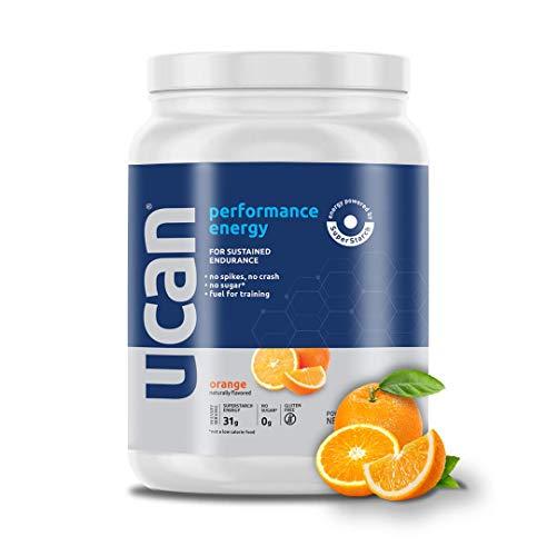 UCAN Performance Energy Powder with SuperStarch - Orange Flavor (20 Servings)