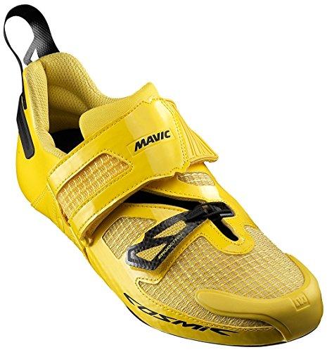 Mavic 216 Men's Cosmic Ultimate Triathlon Cycling Shoes - L378822 (Yellow Black/Yellow - 1)