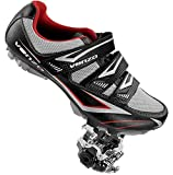 Venzo Mountain Bike Bicycle Cycling Compatible with Shimano SPD Shoes + Pedals & Cleats 48