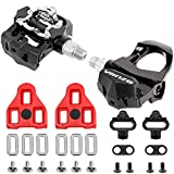 Venzo Sealed Fitness Exercise Spin Bike CNC Pedals Compatible with Look ARC Delta & Shimano SPD 9/16' Compatible with Peloton